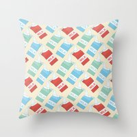 Don't Cry Over Spilt Mil… Throw Pillow