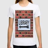 Library Womens Fitted Tee Ash Grey SMALL