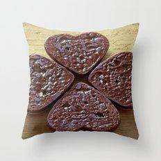 Good luck cookies Throw Pillow