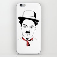 Charlie Chaplin iPhone & iPod Skin
