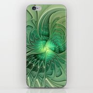 The Abstract Action, Fra… iPhone & iPod Skin