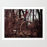 Tricycle story 3 Art Print