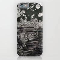 iPhone & iPod Case featuring Jupiter's Guide For Submariners by Leyla Akdogan