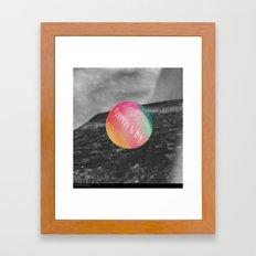 high & dry [vrsn 2] Framed Art Print