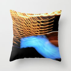 Long Exposure I Throw Pillow