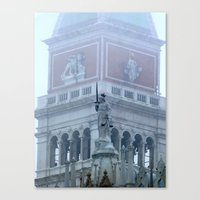 Justice on St Mark's Square Canvas Print