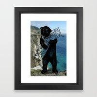 best coast Framed Art Print
