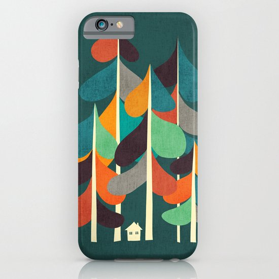 Cabin in the woods iPhone & iPod Case