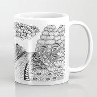 Zentangle Illustration -… Mug