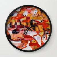 Spooning De Kooning (Pro… Wall Clock