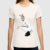 Buhu, I ruined my Jimmy Choos Womens Fitted Tee Natural SMALL