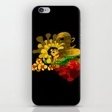 Beheaded with Flowers iPhone & iPod Skin