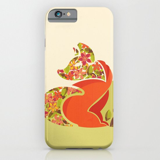 Undercover Fox iPhone & iPod Case