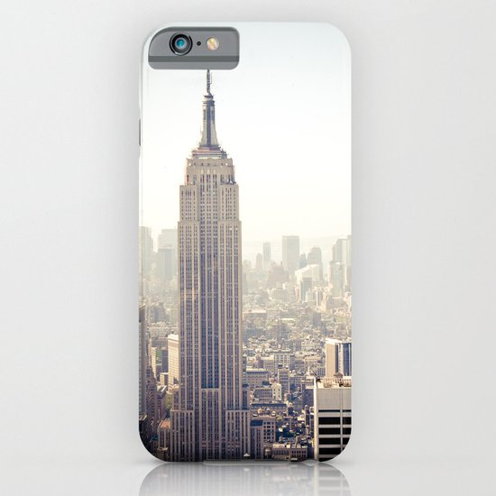 New York City, Empire State Building iPhone & iPod Case