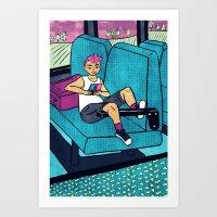 Happy (4) Art Print