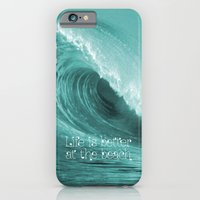 Better At The Beach iPhone 6 Slim Case
