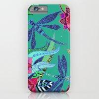 Dragonfly Garden iPhone 6 Slim Case
