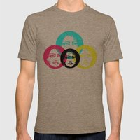 CMYK Punk Mens Fitted Tee Tri-Coffee SMALL
