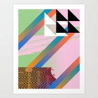 Clrfl Spill Art Print