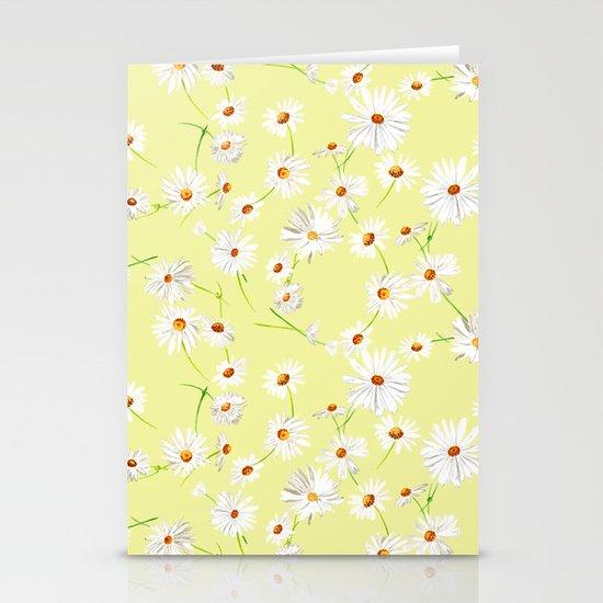 Daisy Chain Stationery Card