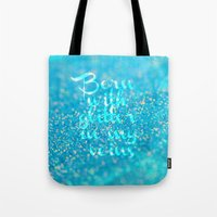 Glitter in my Veins (Photo of Glitter) Tote Bag
