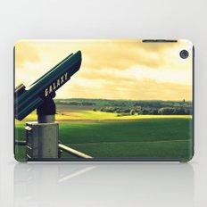 Overlooking the battlefield iPad Case