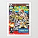 Bargain Bin: The 5th Element Art Print