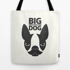 Big Mostacho Dog Tote Bag