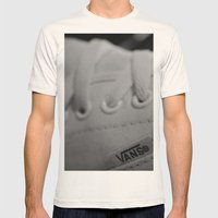 Vans Mens Fitted Tee Natural SMALL