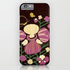 Floral Flower Artprint iPhone 6s Slim Case