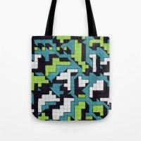 Bad at Tetris Tote Bag