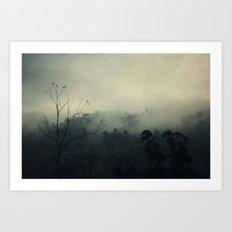 moody fog Art Print