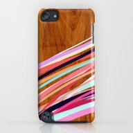 Wooden Waves Coral iPod touch Slim Case