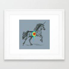 Unicore II Framed Art Print