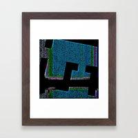 INTHEDARKNITE Framed Art Print