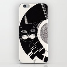 cats life: playing iPhone & iPod Skin