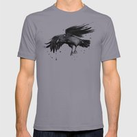 Raven Mens Fitted Tee Slate SMALL