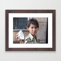 India 360° Framed Art Print