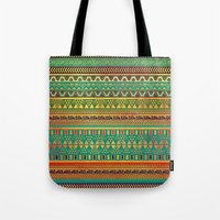 Inspired Aztec Pattern 3 Tote Bag