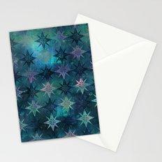 Bohemian Night Skye - Green Stationery Cards