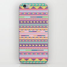Geometric Pastel Pattern iPhone & iPod Skin