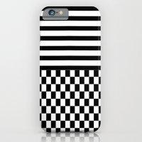 Stripes and Squares iPhone 6 Slim Case