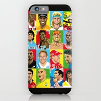 iPhone & iPod Case featuring select your athlete by carré offensif