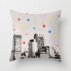citydots Throw Pillow