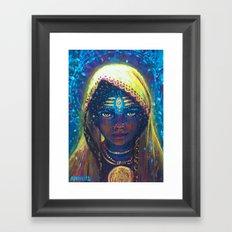 Tryambaka Framed Art Print