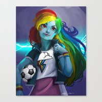 Rainbow Dash Canvas Print
