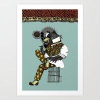 Crow Serie :: Clockworks… Art Print