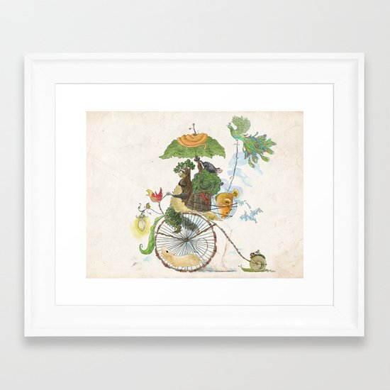 The Life Cycle Framed Art Print
