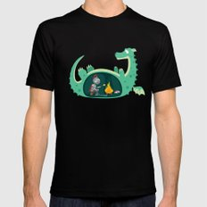 Indigestion SMALL Mens Fitted Tee Black