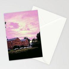 sky purp Stationery Cards